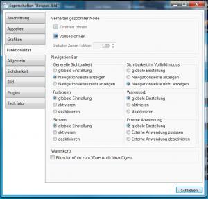 FeatureFriday smartperform - vollbildmodus navigation config
